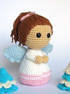 Little Angel Amigurumi Crochet Pattern / PDF eBook by DioneDesign #crochetdolls