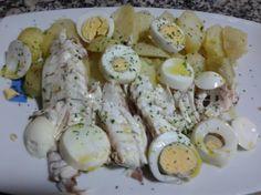 Dorada a la sal con patatas para #Mycook http://www.mycook.es/receta/dorada-a-la-sal-con-patatas/