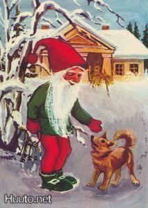 Joulupukki ja pystykorva