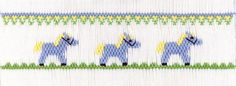 """CEC- """"Pony Pals"""" Smocking Plate by Crosseyed Cricket"""