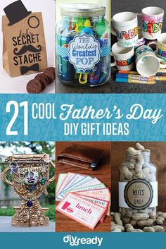 21 Cool DIY Father's Day Gift Ideas | https://diyprojects.com/21-cool-fathers-day-gift-ideas/