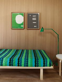 7 Interiors with Bright, Modern Fabrics | Dwell