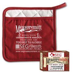 SEG Measurement - Measure-themed Giveaways: Measuremitts & Measuremints