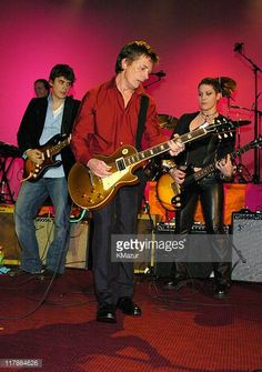 John Mayer Michael J Fox and Joan Jett during 'A Funny Thing Happened on the Way to Cure Parkinson's' A Benefit Evening for the Michael J Fox...