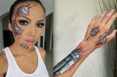 Halloween Makeup idea. Aweaome by caroline