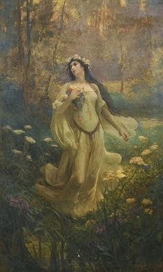 Pre Raphaelite Art: ophelia - joseph kirkpatric