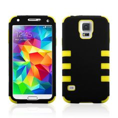Six Robot PC Silicone Case For Samsung Galaxy S5 I9600