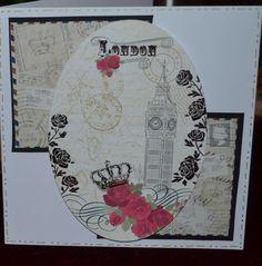 The Crown of London Handmade Card