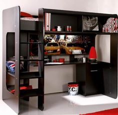Idea for loft bed DIY