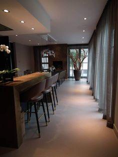 Interior Garden, Indigo, Conference Room, Flooring, Table, House, Furniture, Home Decor, Chic