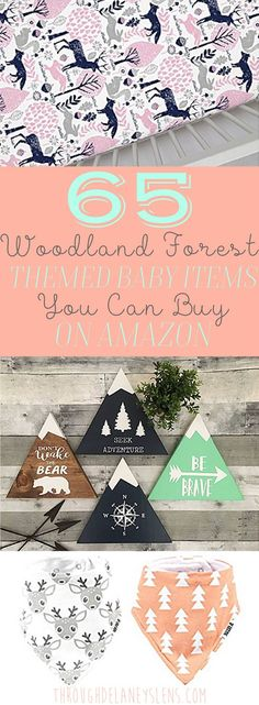65 Woodland Forest Baby Items You Can Buy On Amazon Girl | Boy | Neutral | Nursery
