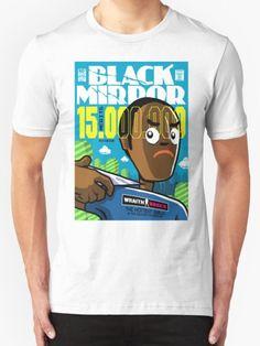 Merits T-Shirt - Black Mirror T-Shirt at Redbubble!