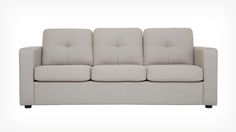 "$1499-10% from EQ3 the place we ordered those white leather sofas that we sold. 80"" many colors. Solo Sofa Sleeper - Fabric 