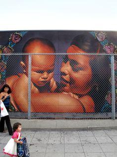 Marvelous Mural Art by El Mac and Retna | Abduzeedo Design Inspiration & Tutorials