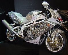 Billionaire Saudi prince Al waleed bin talal owns an exclusive handmade diamond Ducati motorcycle, with cost estimated at about dollars! Moto Ducati, Ducati Motorcycles, Course Moto, Motos Harley Davidson, Hot Rides, My Ride, Sport Bikes, Custom Bikes, Cool Bikes