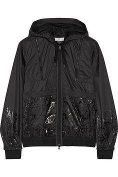ADIDAS BY STELLA MCCARTNEY Hooded shell jacket