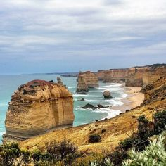 Just enjoying the view of what's left of the 12 apostles. #Melbourne #greatoceanroad #12apostles by lastingfantasy_ http://ift.tt/1ijk11S