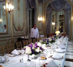 Lunch at Alvear Palace Hotel- Buenos Aires, Argentina