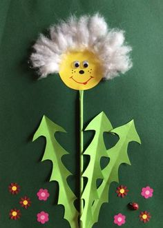 Paper Crafts For Kids, Craft Activities For Kids, Easter Crafts, Fun Crafts, Arts And Crafts, Paper Flowers Diy, Flower Crafts, Daycare Crafts, Up Book
