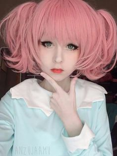 Anzujaamu - one of the cutest women I have ever seen - she is sooo yummy you just want to cuddle her xxxx Cosplay Kawaii, Cosplay Anime, Cute Cosplay, Cosplay Makeup, Cosplay Outfits, Cosplay Girls, Cosplay Style, Cosplay Lindo, Best Contact Lenses