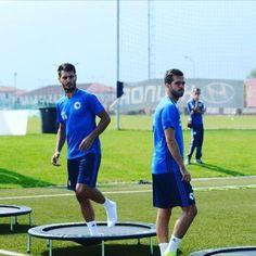 #Zmajevi #emirspahic #miralempjanic #trening #reprezentacijabih