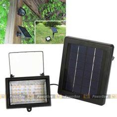 สปอร์ตไลท์โซล่าเซลล์ 40 LED Garden Accent Lighting, Solar Garden Lanterns, Solar Security Light, Solar Spot Lights, Outdoor, Home Decor, Outdoors, Decoration Home