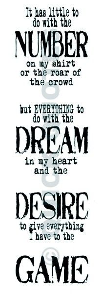 Number. Dream. Desire. Game.
