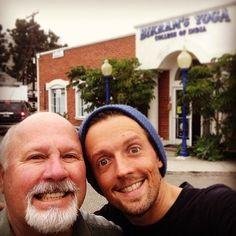 Dad's first/last yoga class! by jason_mraz