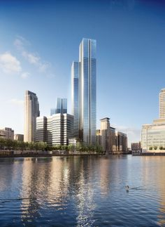 South Quay Plaza by Foster + Partners. DBOX 2015