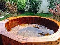 Badefass mit Whirpoolfunktion von www.sisu-sauna.at Houses With Pools, Swimming, Bathing, House