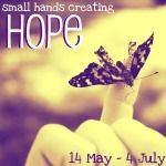 Small Hands Creating Hope - eBook and Printable Book with Crafts and Tutorials from Many Kid Bloggers  (a fundraiser for the American Cancer Society)