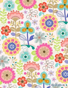Papel estampado ♡ fondos pattern paper, paper background y pattern wallpape Pattern Paper, Pattern Art, Fabric Patterns, Flower Patterns, Full Hd Wallpaper, Wallpaper Backgrounds, Iphone Wallpaper, Wallpapers, Motif Floral