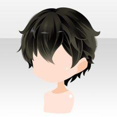 Chibi Eyes, Chibi Hair, Anime Boy Hair, Manga Hair, Chibi Base Couple, Anime Elf, Boy Hairstyles, Anime Hairstyles, Cocoppa Play