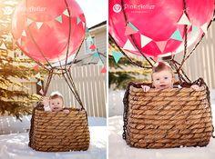 hot air ballon/pinkantler photography
