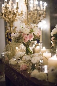 It's everything you would imagine a Parisian wedding to be: exploding off the romance scale, ripe with gold details by Fête in France plus a chic combination of blooms by Sol y Flor and a sparkling croquembouche to wrap it all up.  Style Me Pretty | GALLERY & INSPIRATION | COLOR: