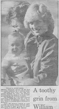 Memories Of Diana - Aberdeen Airport With Baby William - After Balmoral Weekend - March 8th 1983