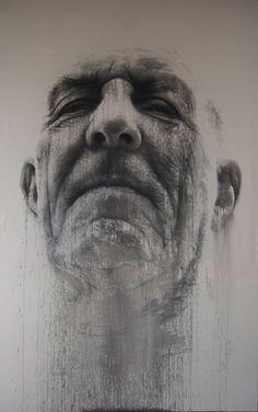 "Saatchi Online Artist: Annemarie Busschers; Acrylic, 2011, Painting ""tia"""