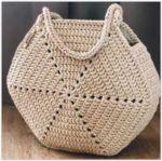 Мобильный LiveInternet Вяжем крючком интересные сумочки из шестиугольных мотивов | Pepel_Rozi - Женский журнал -Пепел розы | Crochet Motif, Crochet Stitches, Knit Crochet, Crochet Patterns, Crochet Handbags, Crochet Purses, Motif Hexagonal, Crochet Beach Bags, Bag Pattern Free