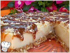 ΓΛΥΚΟ ΨΥΓΕΙΟΥ ΦΥΣΤΙΚΙ ΚΑΡΑΜΕΛΑ!!!   Νόστιμες Συνταγές της Γωγώς Greek Sweets, Greek Desserts, Greek Recipes, Cheesecake Tarts, Icebox Cake, Sweets Cake, Confectionery, Bakery, Dessert Recipes