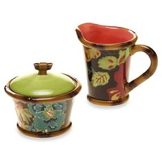 TRACY PORTER Poetic Wanderlust Eden Ranch Sugar & Creamer Set $28 BEST PRICE GUARANTEE FREE WORLD SHIPPING (LOCAL ORDER PICK UP IS ALSO AVAILABLE & GET 20% OFF)