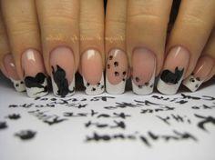 animal nail art - animal nail stickers - animal paw print nail decals - cat nail decorations - dog nail decals - bugs and critters nail art - wild animal nail art - cute animal nail decals - animal themed nail art - dog paw nail art - animal nail designs Animal Nail Designs, Gel Nail Art Designs, Cat Nail Art, Animal Nail Art, Winter Nail Art, Winter Nails, Nail Decals, Nail Stickers, Paw Print Nails