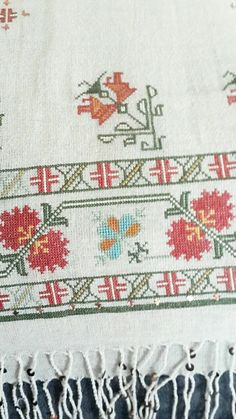 Diy And Crafts, Projects To Try, Cross Stitch, Embroidery, Traditional, Karma, Poppies, Cross Stitch Embroidery, Hardanger