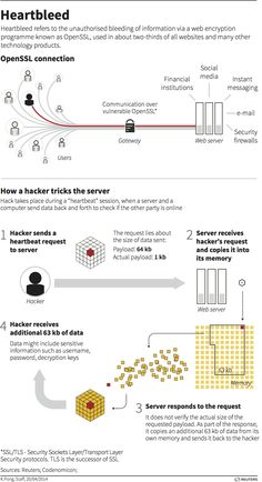 Heartbleed - graphic of the day