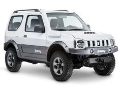 SUZUKI JIMNY The M13A petrol engine from 1,328 cc is built entirely in aluminium and equipped with distributing twincam variable valve timing, the four
