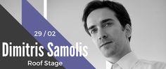 Dimitris Samolis 29/2 LIVE @Gazarte Roof Stage