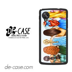 Disney Princesses For Google Nexus 5 Case Phone Case Gift Present YO