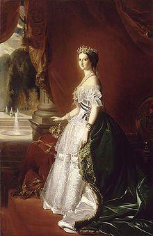Empress Eugenie. Franz Winterhalter
