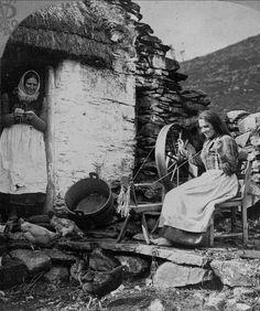 An Irish Spinner, 1904