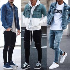 The latest men's fashion including the best basics, classics, stylish eveningwear and casual street style looks. Teen Guy Fashion, Mens Fashion, Korean Fashion, Style Fashion, Stylish Men, Men Casual, Sneaker Outfits, Look Man, Sneakers Mode