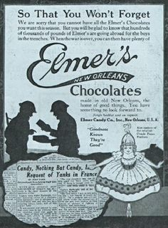 Elmer's Candy Co. made the most delicious chocolate candy.  My favorite --- Gold Bricks.  They also made Gold Brick chocolate sauce that would harden when you put it over ice cream.  It was THE BOMB!  Wish I had some right now!